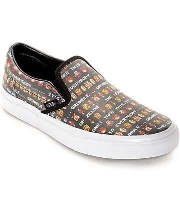 70647788367b Vans x Nintendo Leather Slip On Zelda Shoes (Womens)