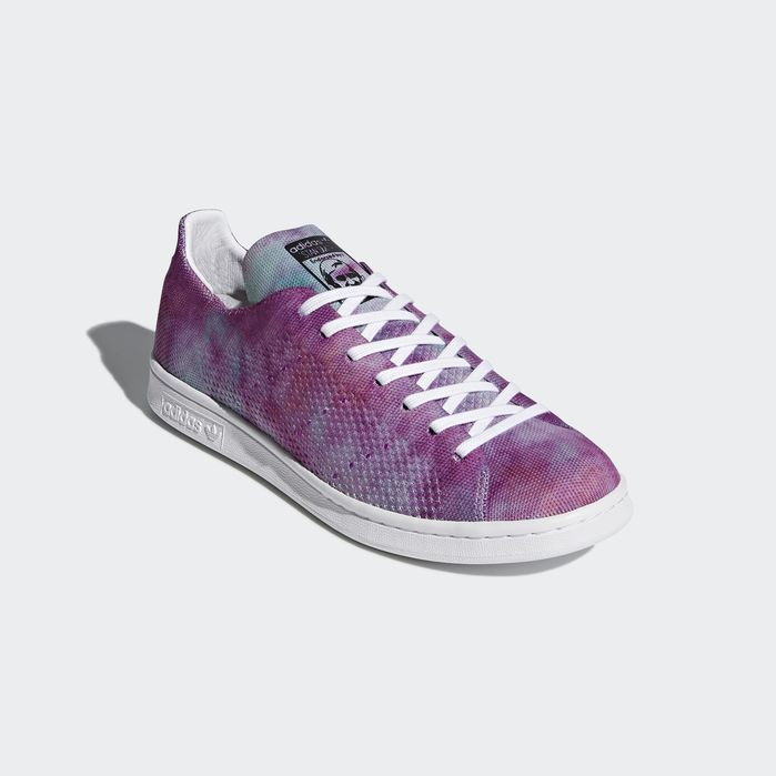 pretty nice 823d4 d569d Pharrell Williams Hu Holi Stan Smith MC Shoes Chalk Coral 10.5 Mens