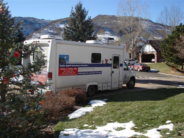 Eagle Spirit Veterinary Practice Housecall Service Based In Greeley Vet Clinics Mobile Vet