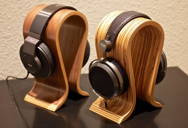 Wood Omega Style Headphone Stand | Price & Reviews | Drop ...