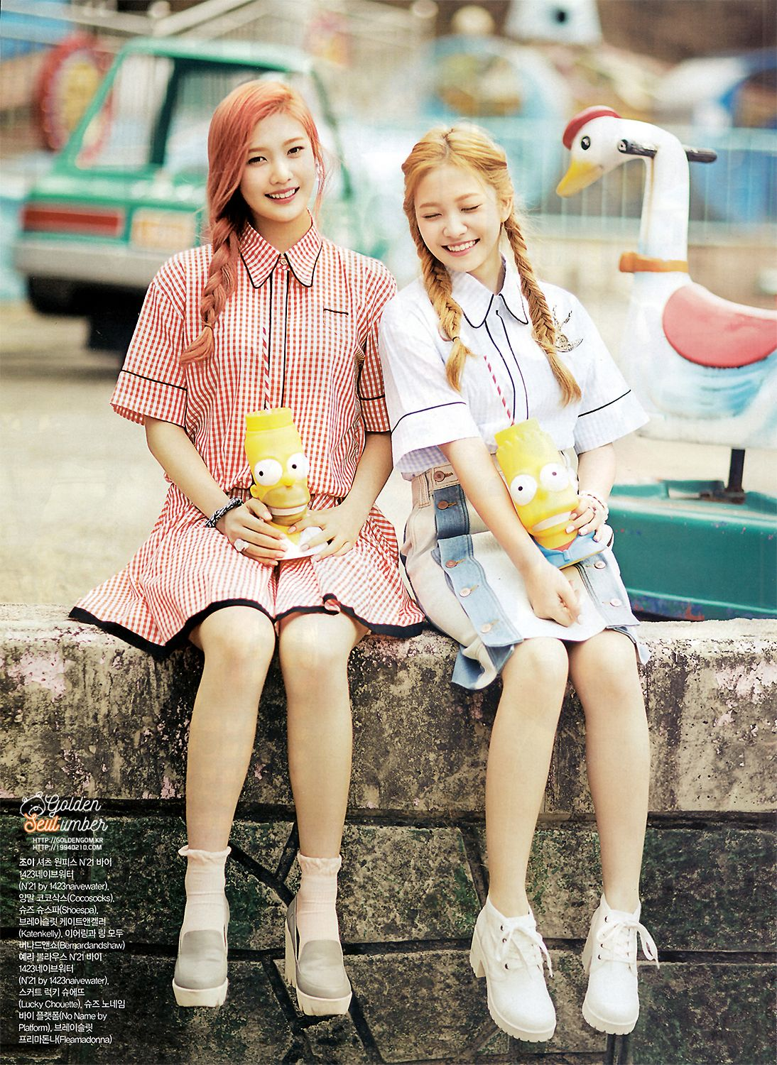 Other red velvet s airport fashion celebrity photos onehallyu - Red Velvet For Nylon Ceci And Celebrity Omona They Didn T