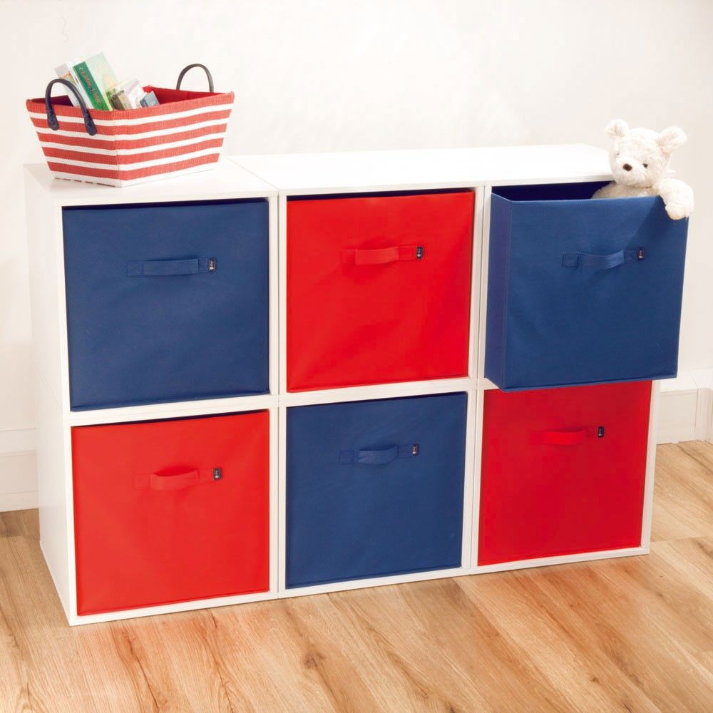 Medium Of Fabric Storage Cubes