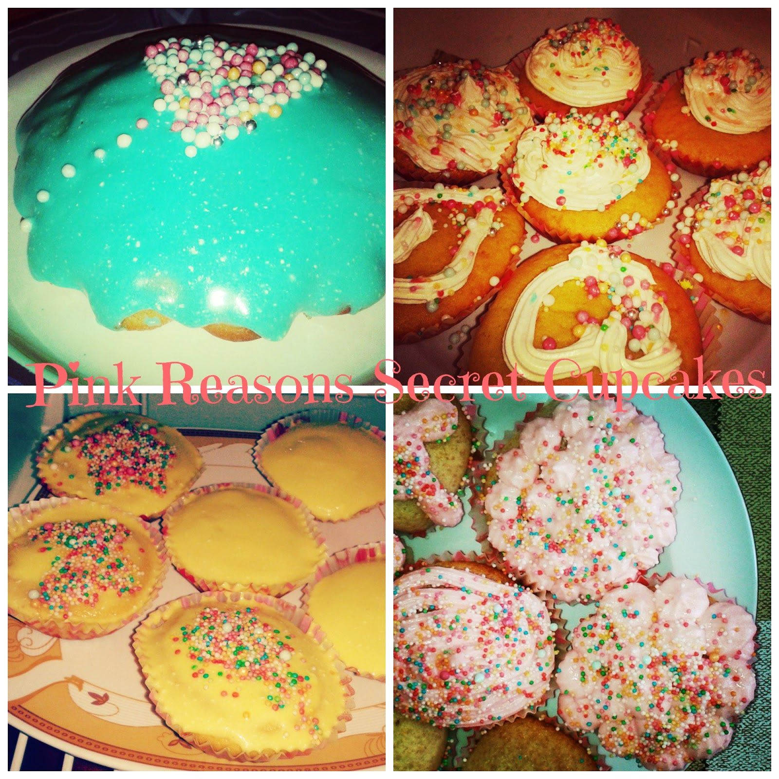 Pink Reasons: Amazing Super Easy Vanilla Cupcakes!!!