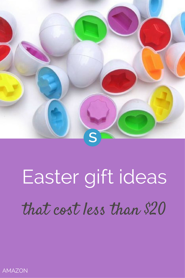 Here are Easter gift ideas for kids of every age group. And the best thing  is, these all cost less than $20.