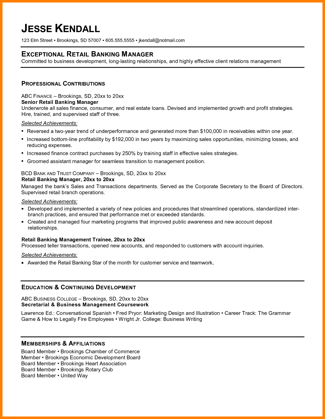 A Resume Title Examples Resume Examples Professional Resume