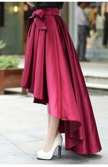 Tablones Vestido Con Tablones Faldas Largas De Vestir Faldas Elegantes