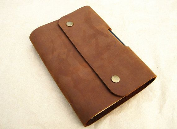c4ee4fdb7741 Leather bound notebook leather bound journal personalized leather ...
