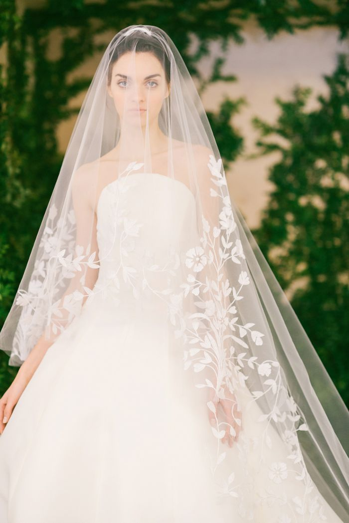 The wedding veil styles thatll be trending in 2018 pinterest just as varied as the gowns themselves creative wedding veil styles abound click through to see and shop our picks junglespirit Image collections