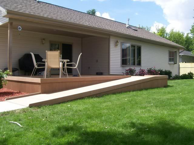 Wheelchair Ramp Deck Wheelchair Ramp Handicap Ramps Ramp Design
