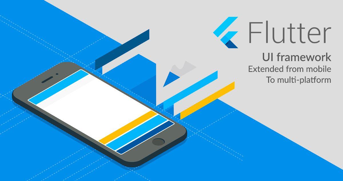 Flutter UI framework extended from mobile to multi-platform