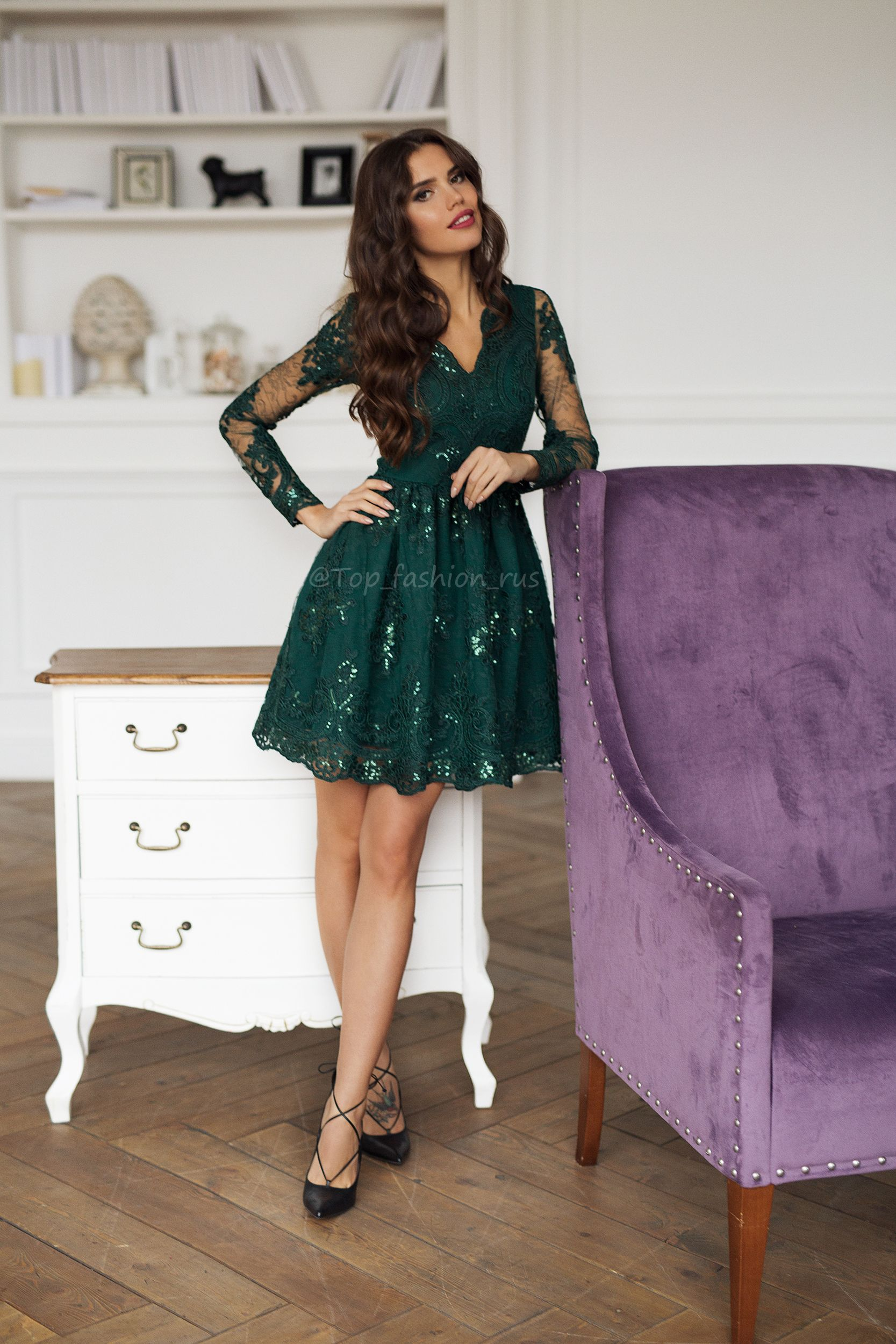 5ad8f6aa1ec4 Зеленое платье, платье, платье на Новый Год, Новогоднее платье 2018 ...