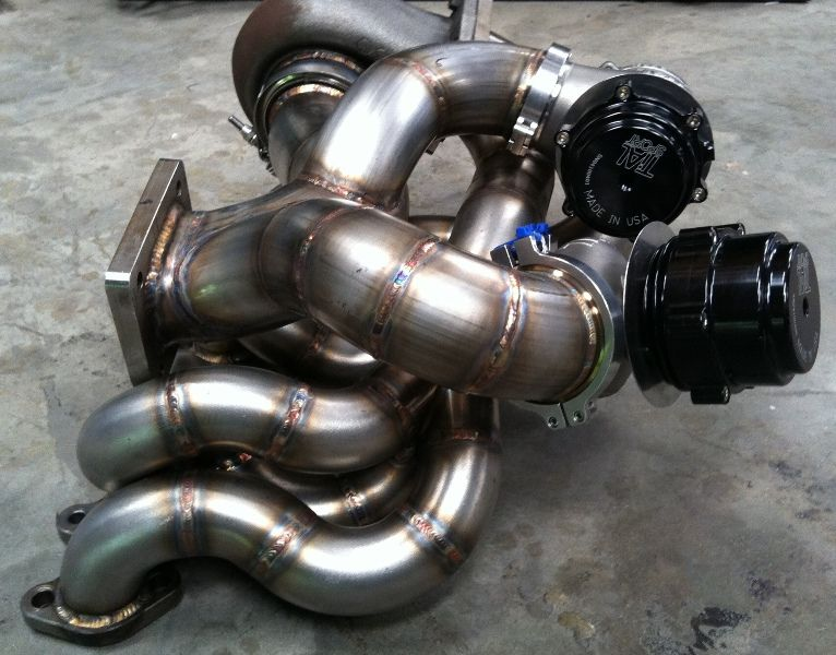 crazy welding supra exhaust manifold