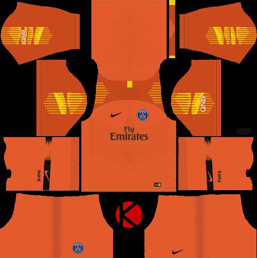 Paris Saint Germain Psg 2018 19 Kit Dream League Soccer Kits