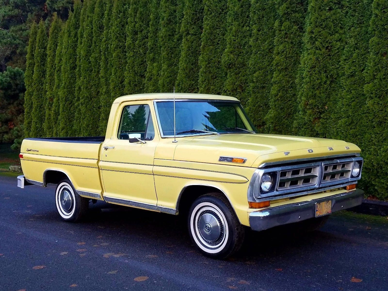 Wow I Quite Simply Enjoy This Color Scheme For This 1970 F150 1970f150 Ford Trucks Ford Pickup Trucks Classic Ford Trucks