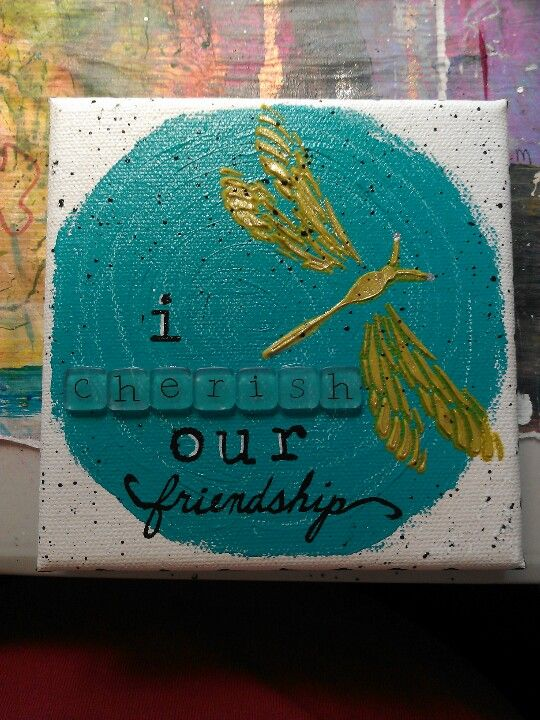 how to make an acrylic paint stencil