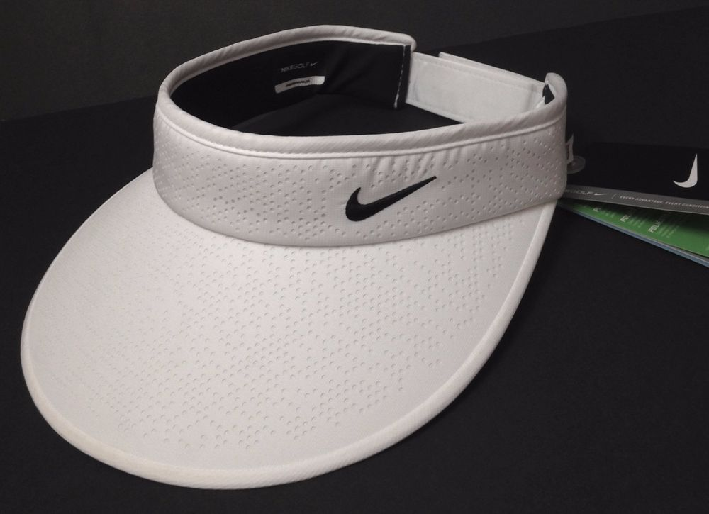 Women NIKE GOLF WIDE BRIM VISOR Dri Fit Polyester Lightweight Dry Tennis  Sun Hat  Nike  Visor  Golf 0097ec135c2
