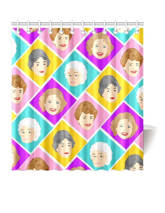Shower Curtains With Your Favorite Sitcom Peeps On Them Heres