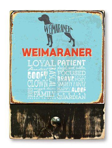 Weimaraner (Typedography)
