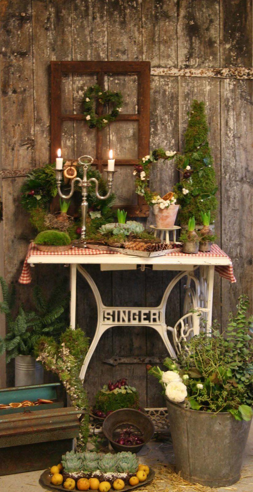 blomsterverkstad floral courses weihnachtsdekoration pinterest garten. Black Bedroom Furniture Sets. Home Design Ideas