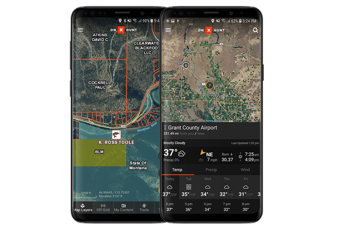 onX Hunt Helps You Find Uncharted Fishing Waters Too