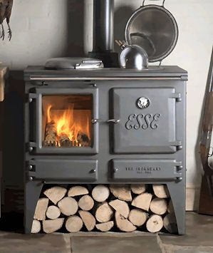 Multi Fuel Stove Ironheart From Esse Wood Stove Wood Burning Stove Stove Fireplace
