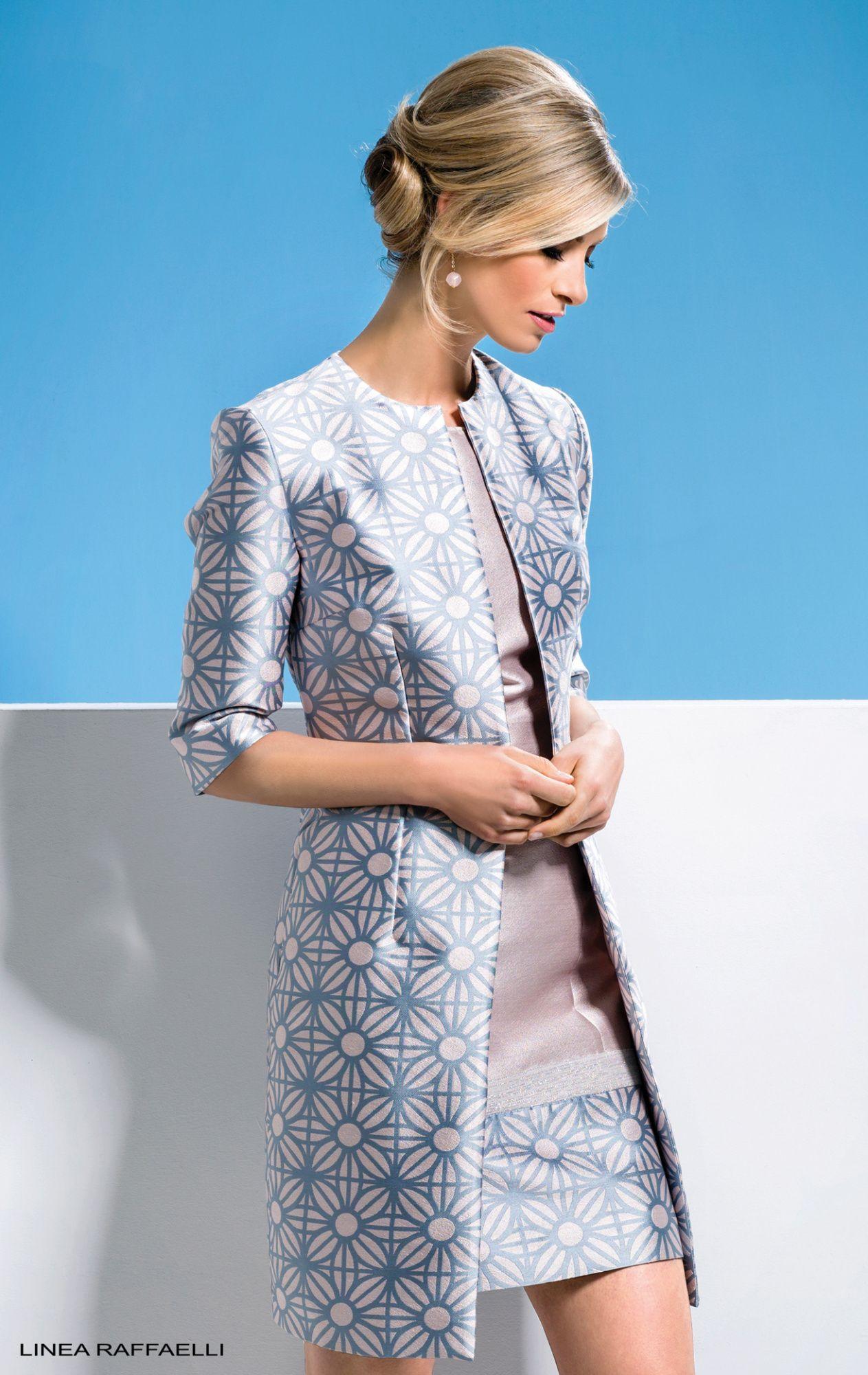 Linea Raffaelli dress 171-681-01 set 047, resort collection 2018 ...