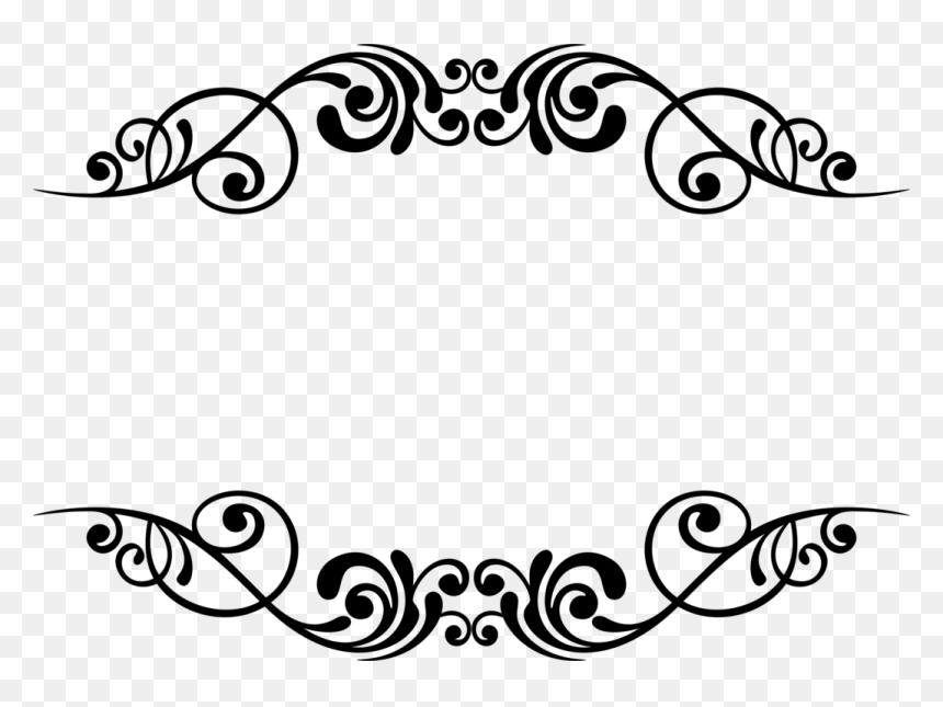 Border Design Black And White Hd Png Border Design Black N White Images Black And White
