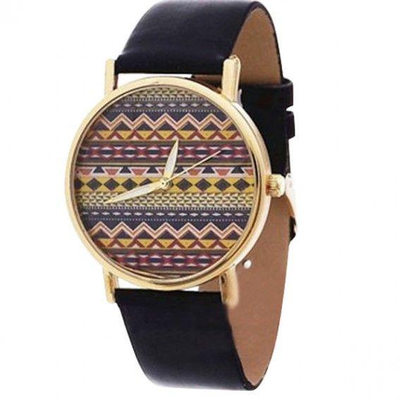 Black tribal watch