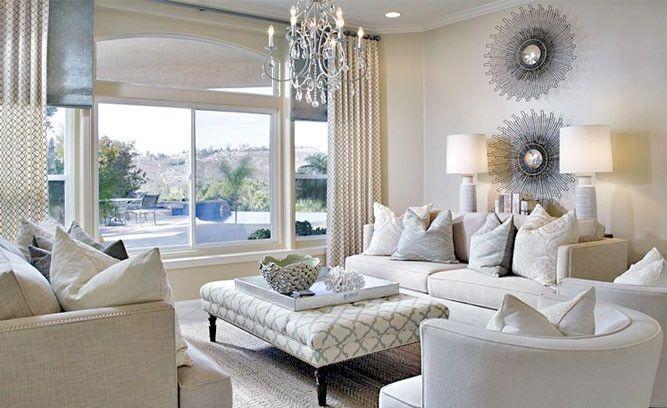 Glam Living Room Decor Inspired By Wayfair Ide Dekorasi Kamar Rumah Dekorasi Kamar