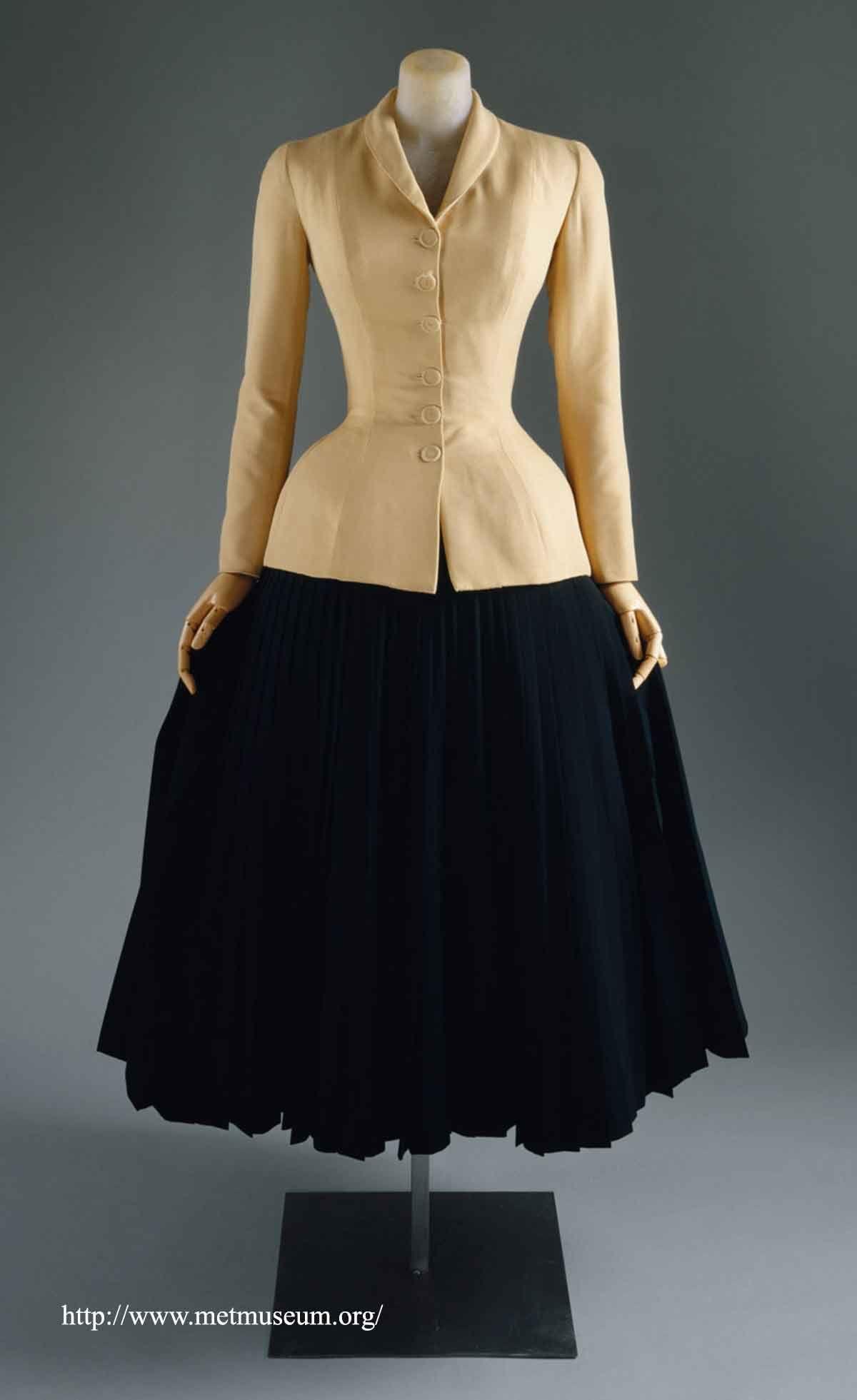 1940's Fashion - America Vs Dior New Look 1947