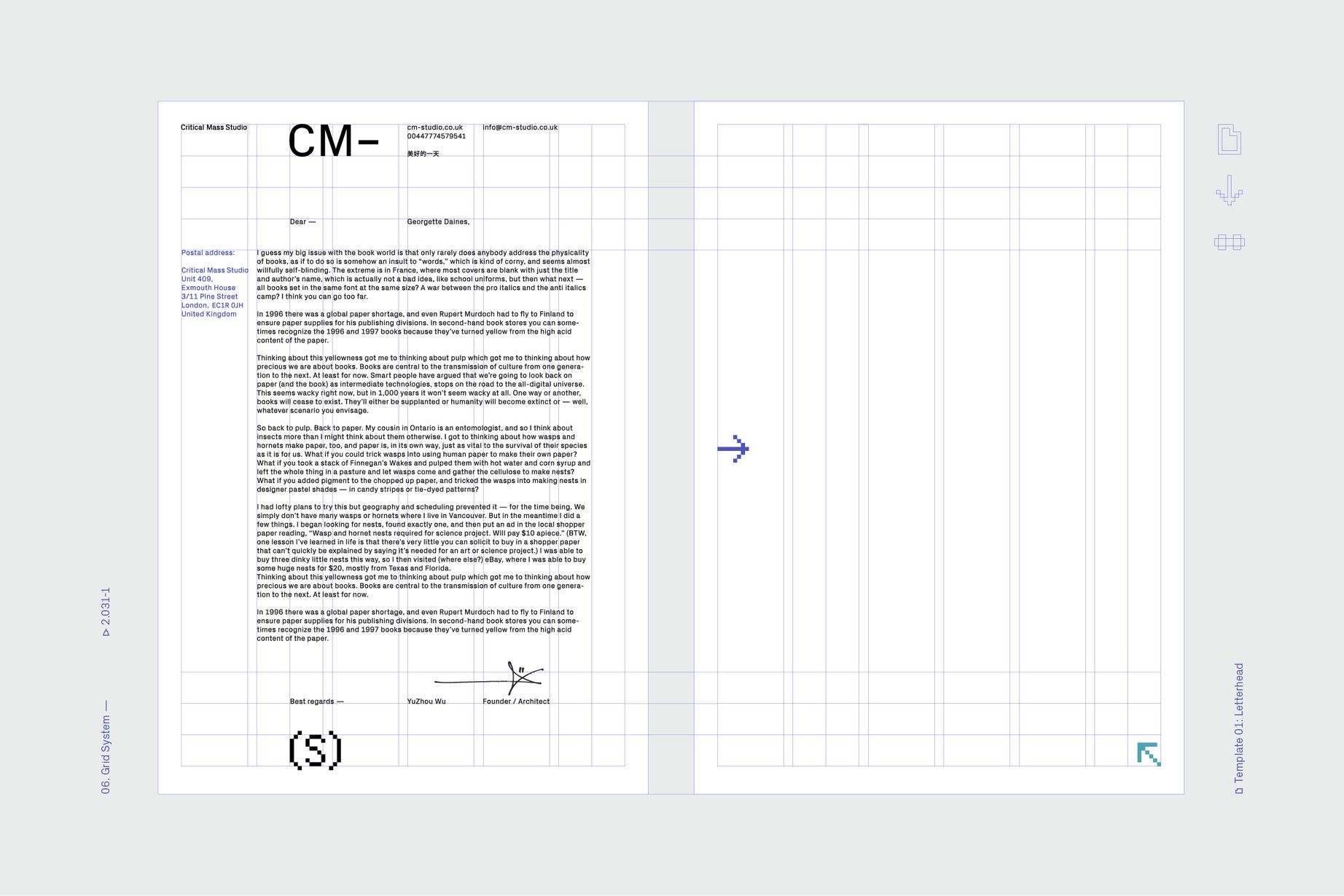 Identity for critical mass studio printed material and brand design spiritdancerdesigns Choice Image