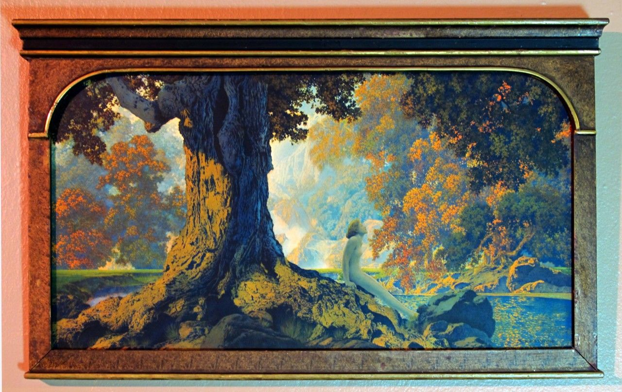 MAXFIELD PARRISH - DREAMING