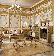 Living e Divani di lusso per la zona giorno classica in stile ...