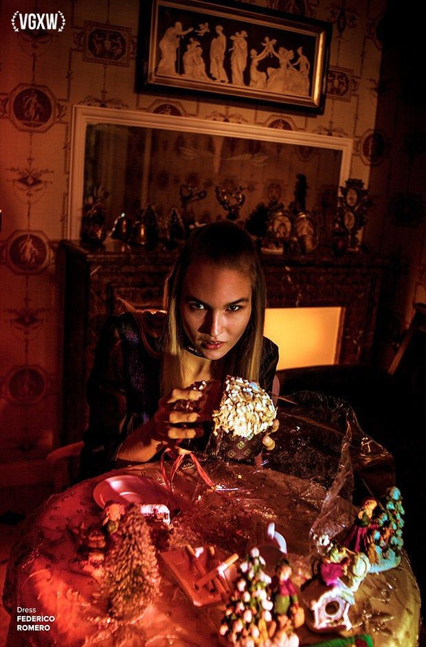 VGXW Magazine Editorial Dark Christmas (con imágenes