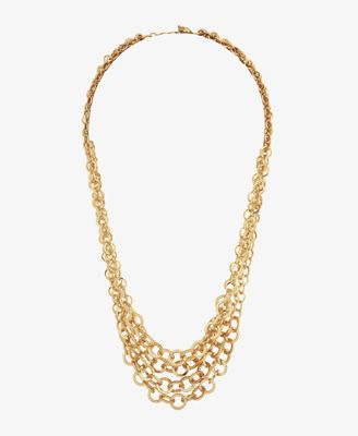 $6.80 - Graduated Rolo Chain Necklace   FOREVER21 - 1000046719