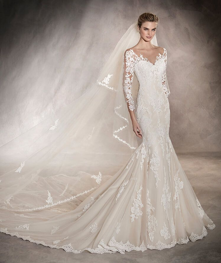 Tibet from Pronovias is available at Sincerely, The Bride located in ...