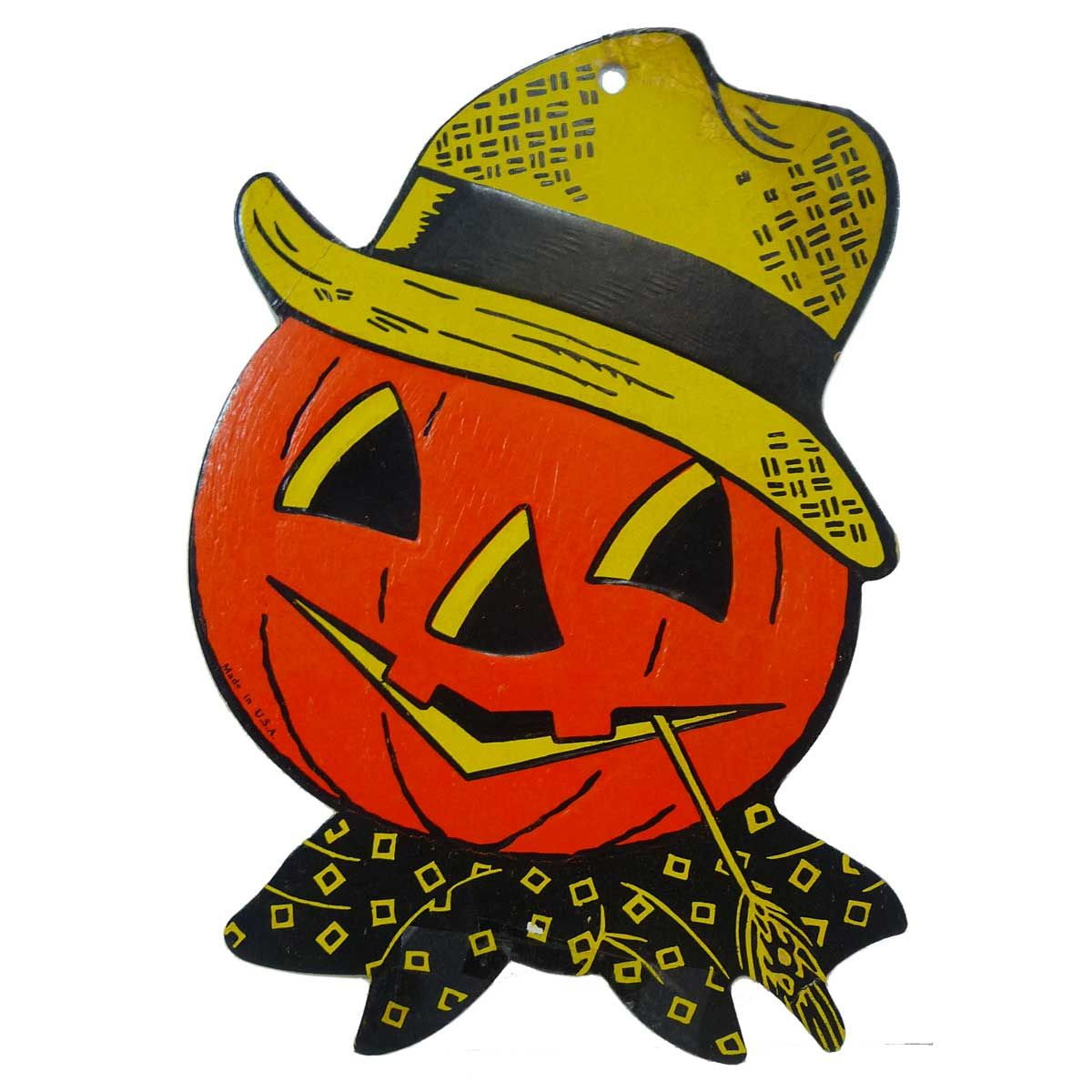 """vintage halloween decorations of the 1960s 