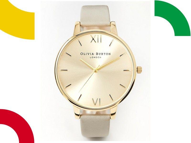 Zegarek Damski Olivia Burton Szary Pasek Bcm 5334747511 Oficjalne Archiwum Allegro Olivia Burton Gold Watch Olivia Burton Watch