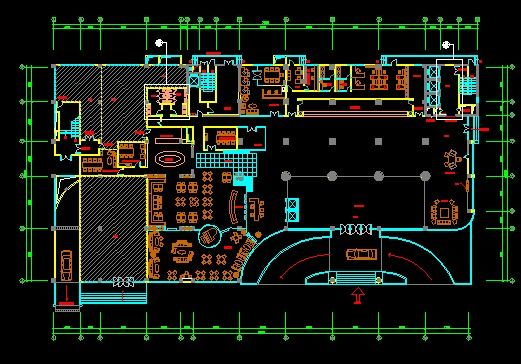 Four-star Hotel CAD Decorate Plan Plans