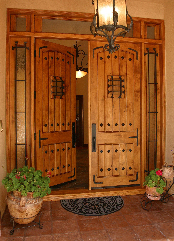 Custom Wood Front Door By Grand Entrances In San Diego Ca Custom Entry Mediterranean Fro Mediterranean Front Doors Custom Wood Front Doors Houses In France