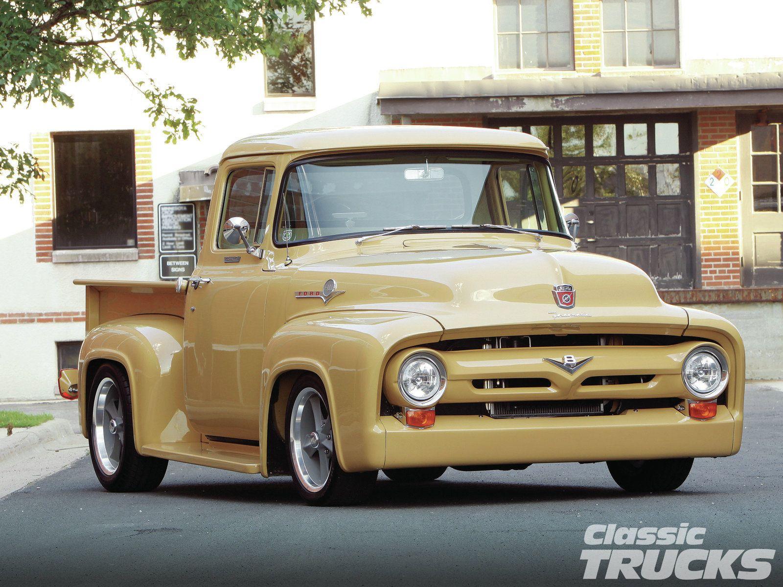 1956 Ford F 100 Ford Trucks Trucks Old Pickup Trucks