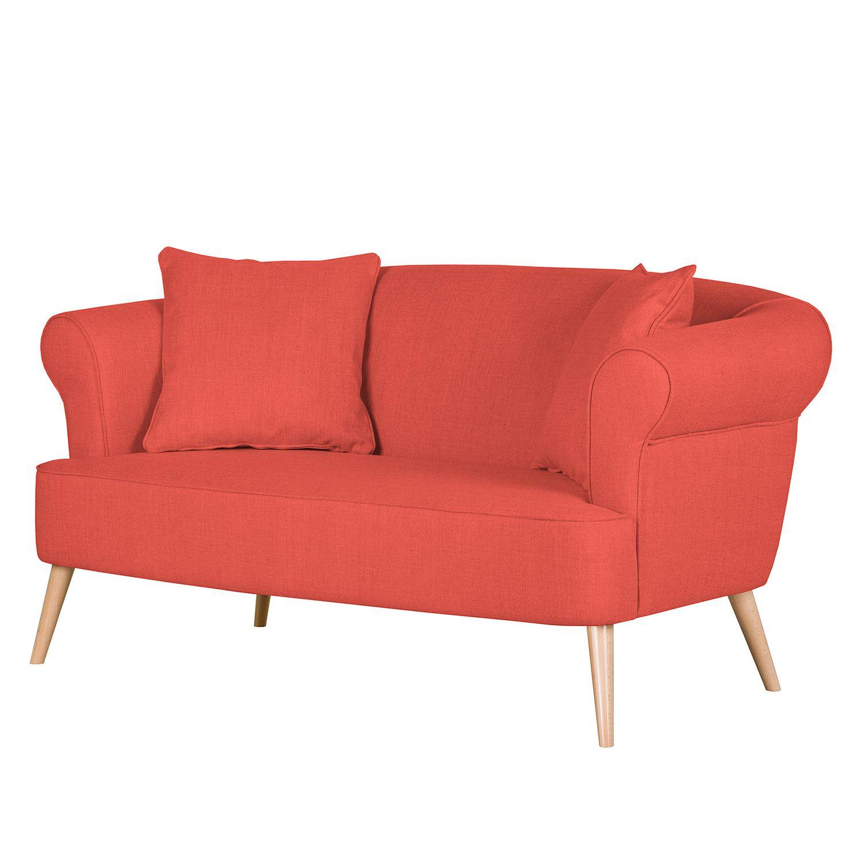 Sofa Lilou 2 Sitzer Webstoff Rot Maison Belfort Jetzt Bestellen Unter Https Moebel Ladendirekt De Wohnzimmer Sofas Sofas 3 Sitzer Sofa Zweisitzer Sofa
