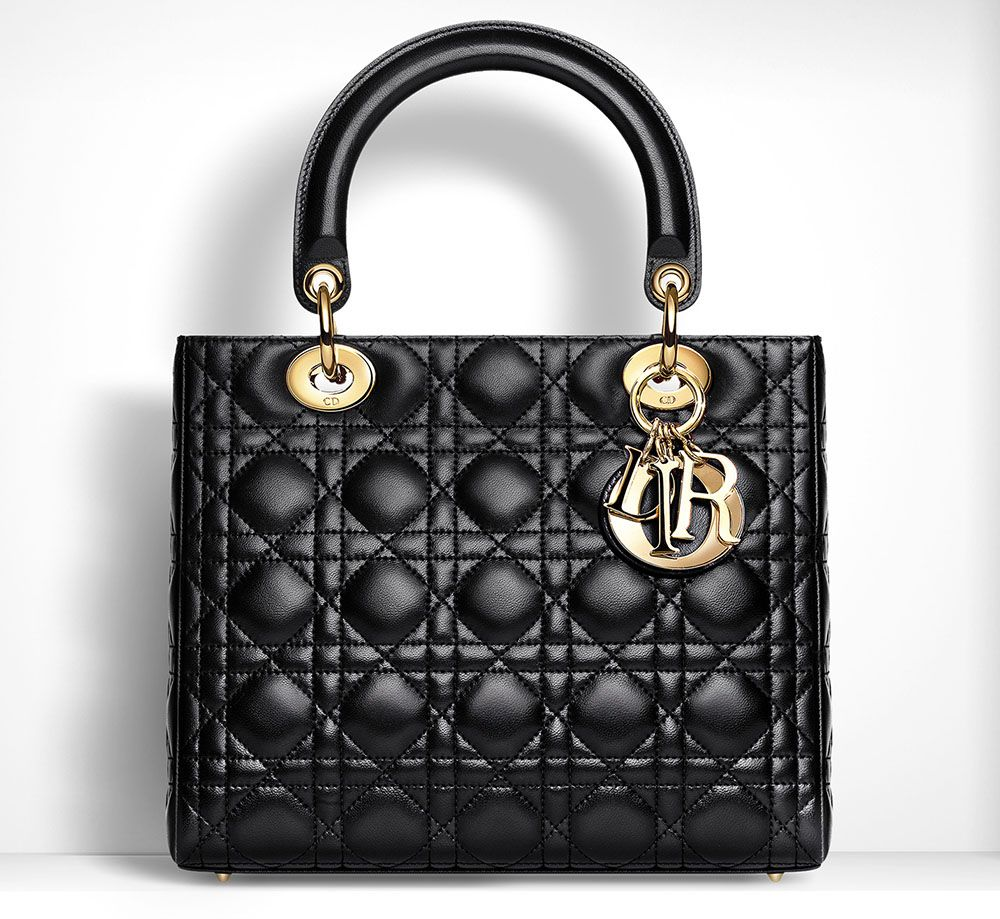 Totally Underrated  The Christian Dior Lady Dior Bag   Up Close and ... b9f9196dced