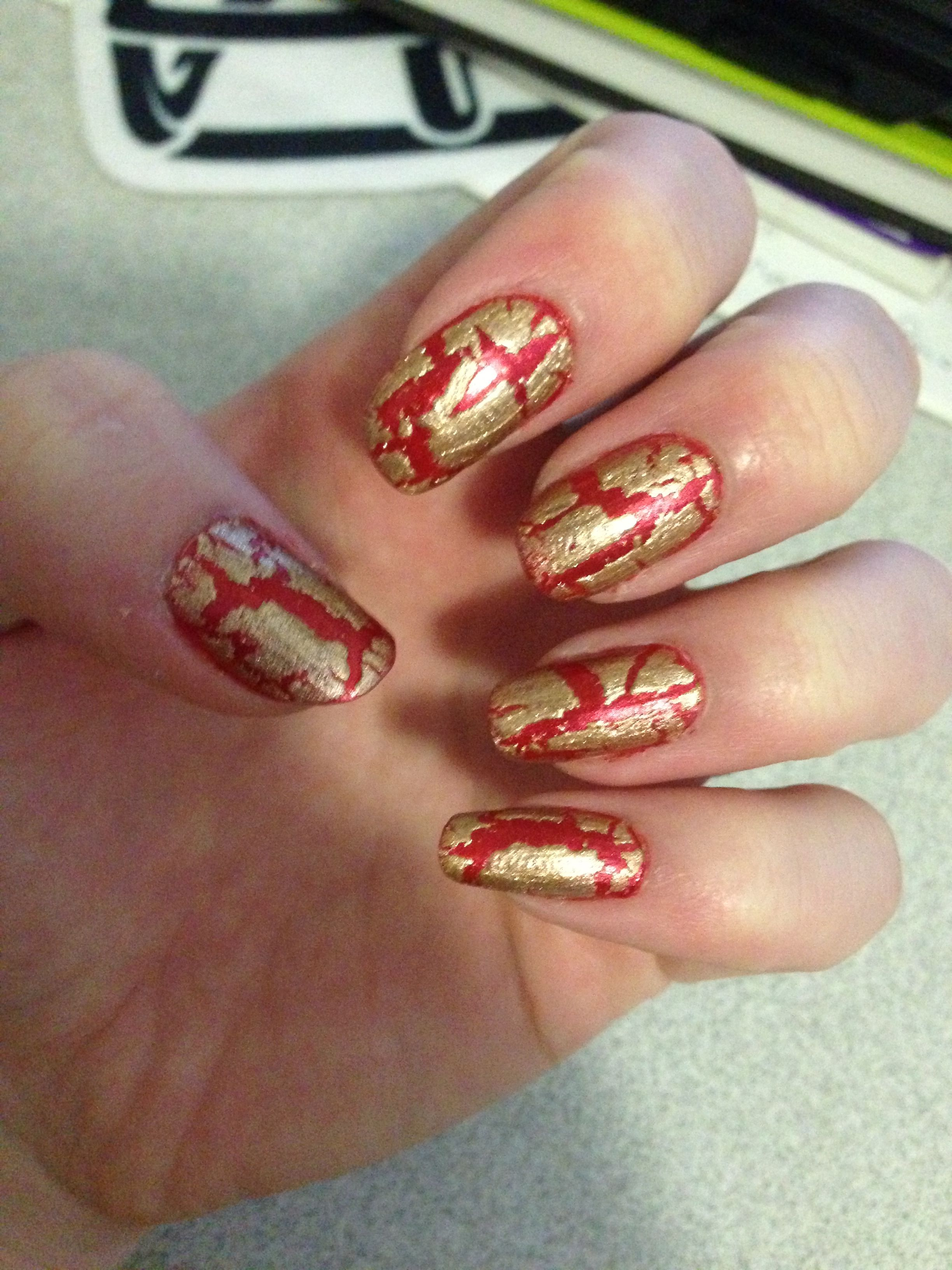 crackle nails