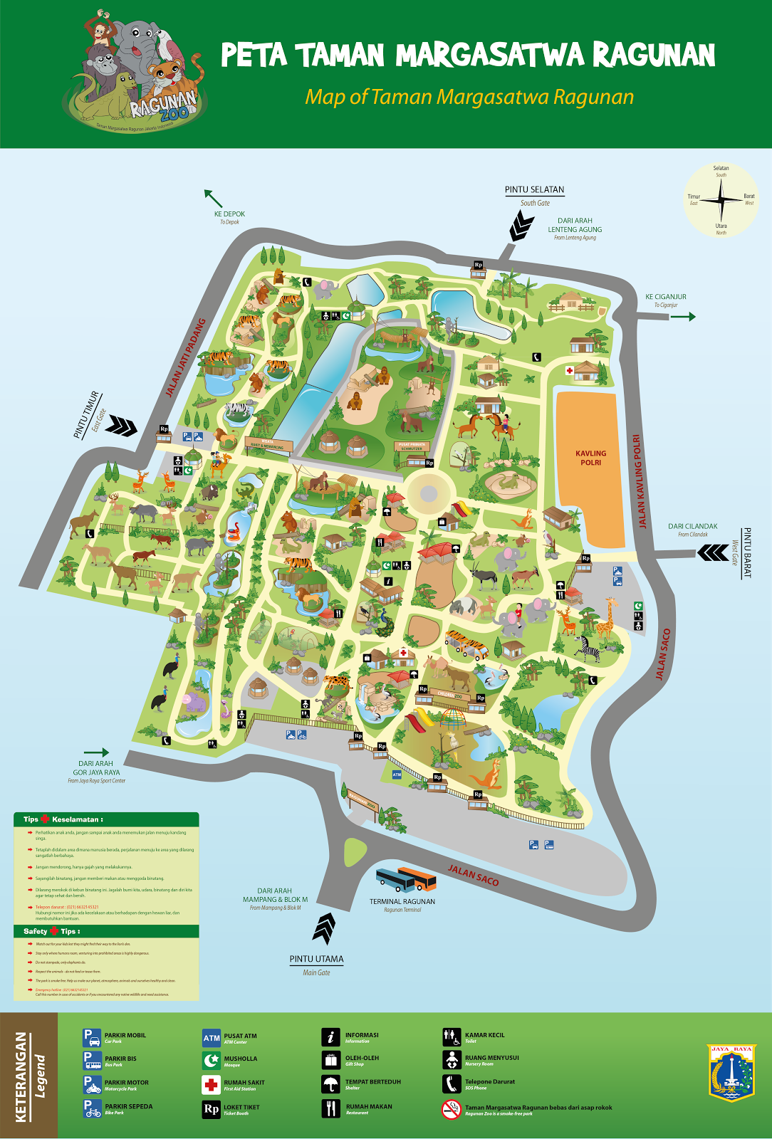 Tempat Wisata Kebun Binatang Ragunan