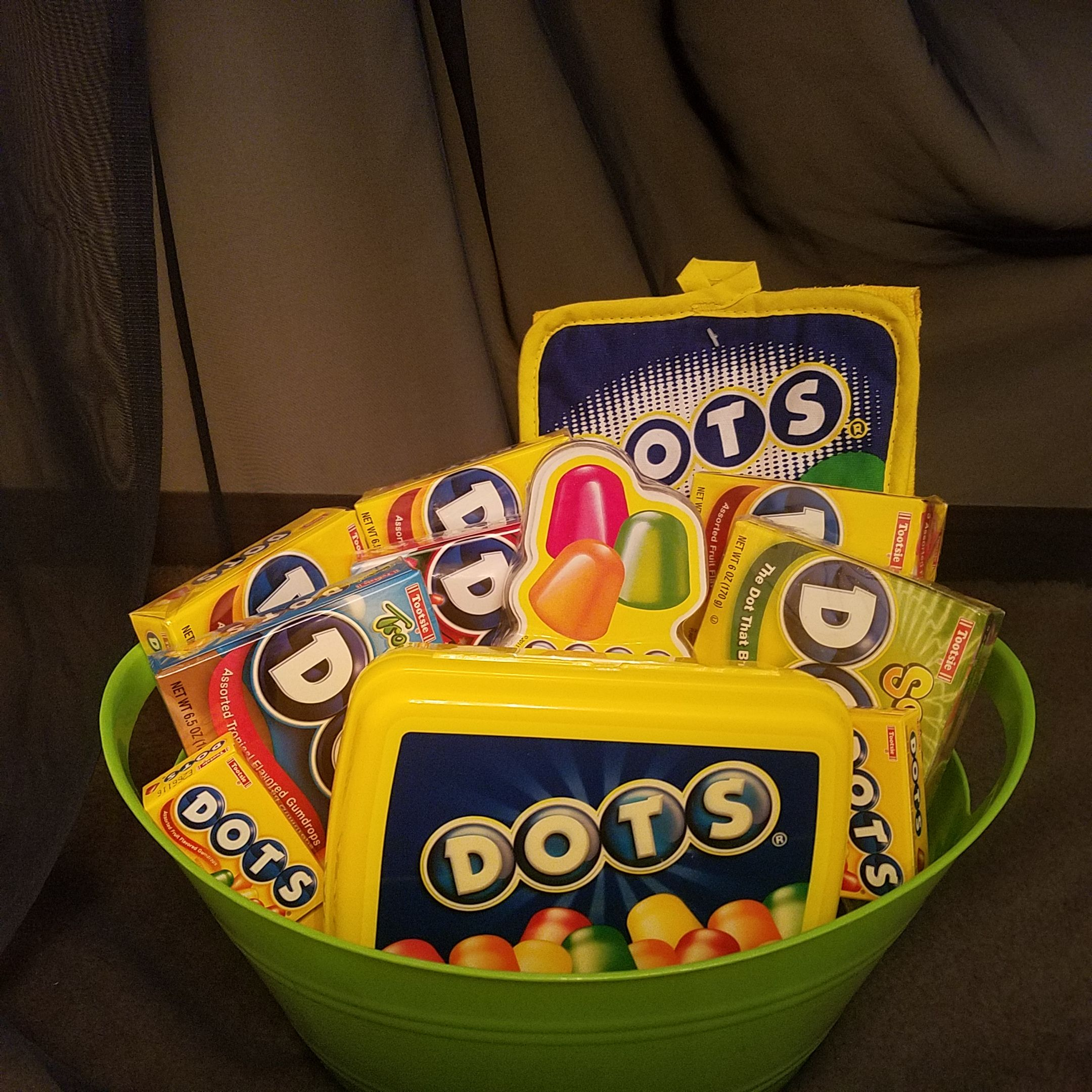 Dots candy gift basket candy gift baskets dots candy