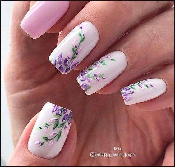 130 cute spring nail art designs to spruce up your next mani