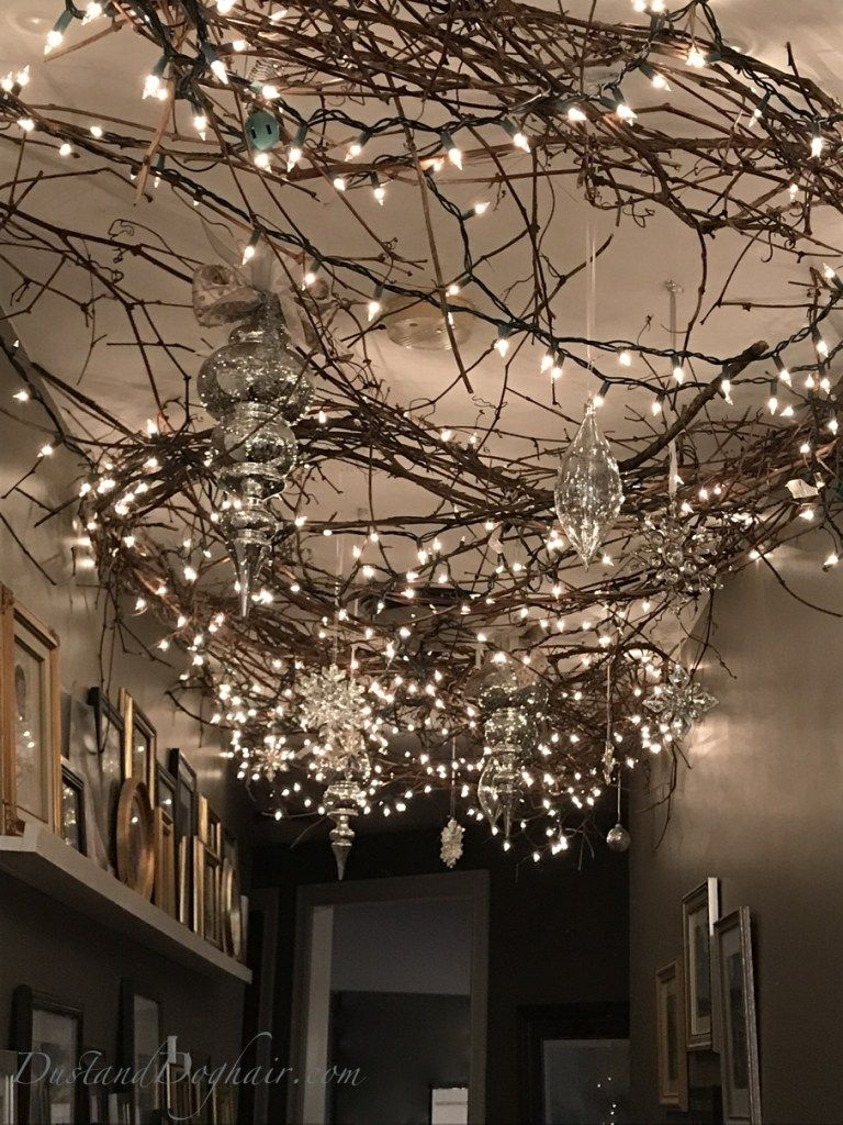 Magical Lighted Hallway For Christmas Christmas Lights Inside