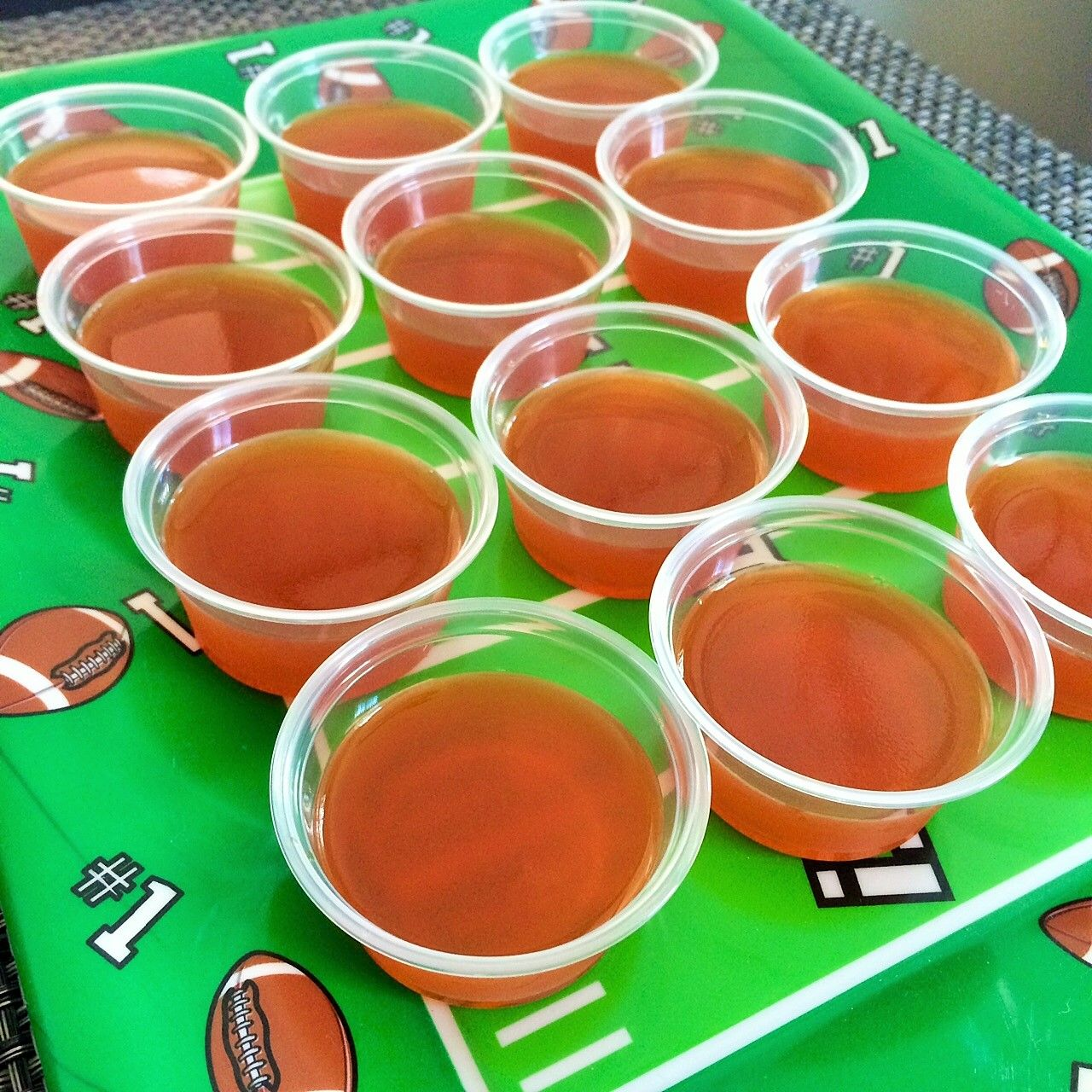 Score A Touchdown With These Fireball Jello Shots! A Party