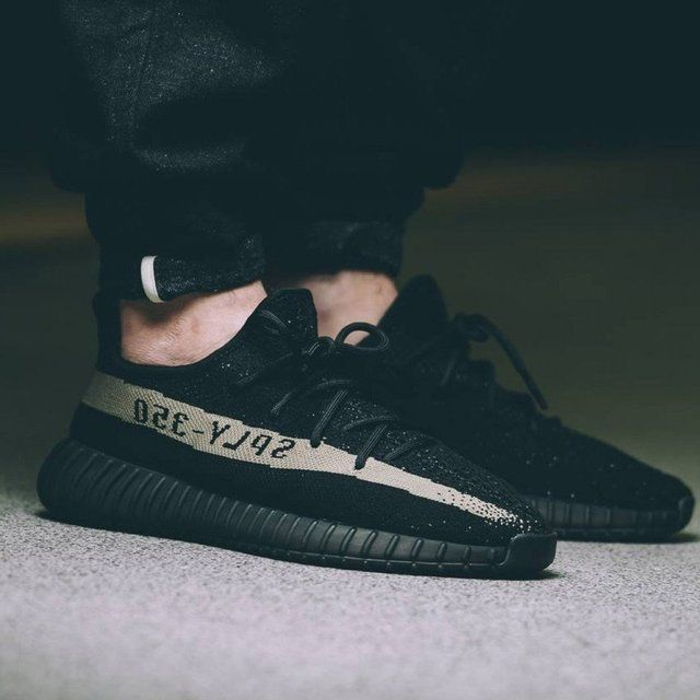 7e9451554138d Adidas Yeezy Boost 350 V2 Core Black Green in 2019
